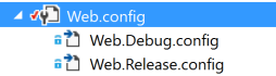 web.config Transform